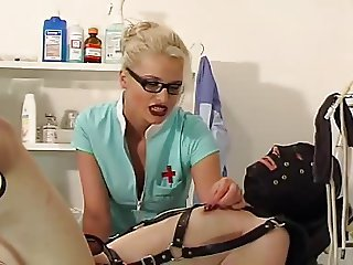 Blonde mistress nipple torture 2