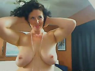 Me Busty housewife Shanon teasing on webcam