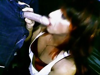 Crossdresser Gives Hot Blowjob