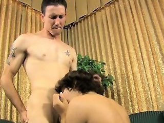 Gay sex Danny\'s got a long manmeat and low-hanging balls, wh