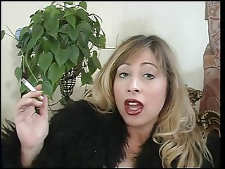 Mistress Cristian outs her slave to good use