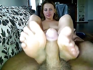 Naked Foot Fetish Morning Sex
