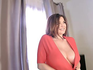 Tessa Fowler Lovely Big Natural Boobs