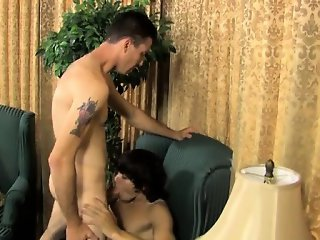 Hot twink Danny\'s got a lengthy stiffy and low-hanging balls
