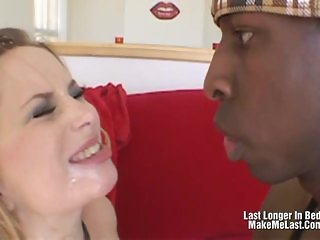 Hot Blonde Aiden Starr Swallow After A Rough