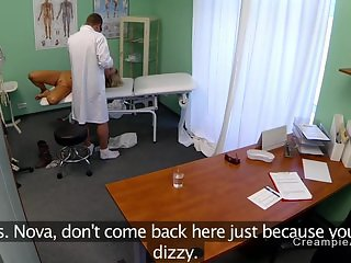 Perfect ass patient banged by doctor