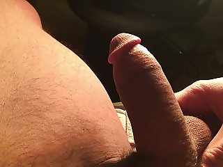 Semi erected Pakistani cock