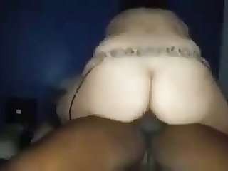 my Hot wife sucks and fucks her black lover  and me watch