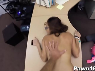 Beautiful Woman Giving Blowjob for Cash