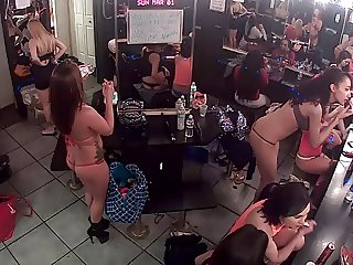 Live stream from strip club dressing room