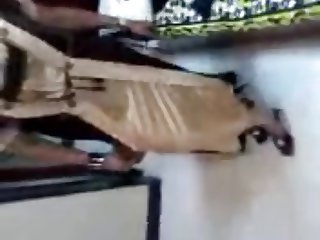 Indian Wife Changing Dress