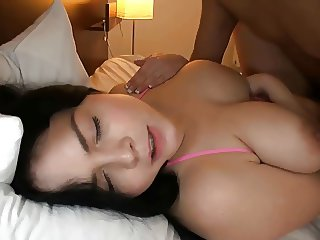 Busty Natural Chubby Cutie - POV Fuck