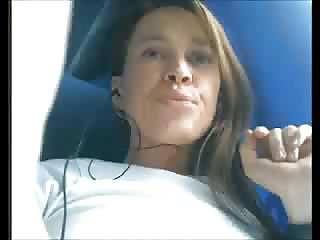 Hot amateur Fingering in the bus!