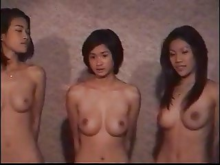 HOT Thai models sexy group contest full nude