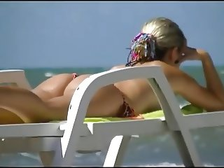 sexy not my step mother on Beach  6  2015