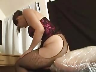 Japanese huge ass smothering
