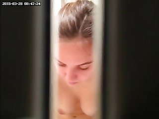 Gorgeous Beauty Caught In Bathroom - Part 4