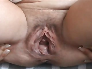 mature gaping huge cunt