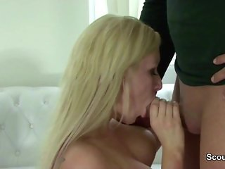 German Real Hooker get fucked for Money