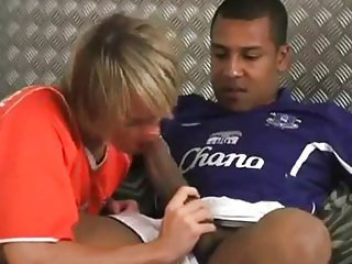 Soccer players fucking