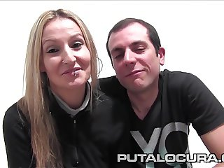 PUTA LOCURA First Time Amateur Couple