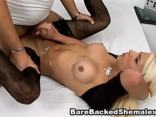 Sexy Wild Shemale And Hot Arousing Guy Fuck E