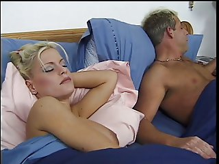 Big tits blonde loves a good fuck