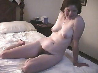 My wife poses nude during a photo session