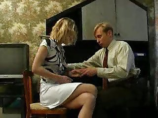 Boss his secretary for sex