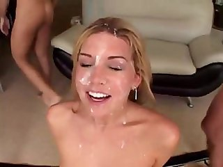 FACES OF CUM : Tiffany Rayne