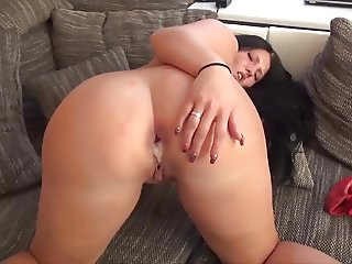 Ass to mouth and creampie for german girl