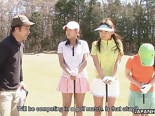 Asian golf has to be kinky in one way or another