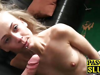 Natural beauty Carmel Anderson enjoys a rough hard pounding