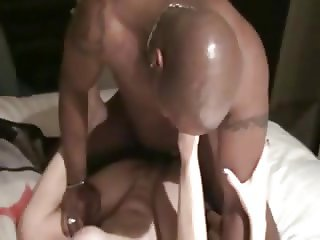 Black Stud fucks Slut Wife.