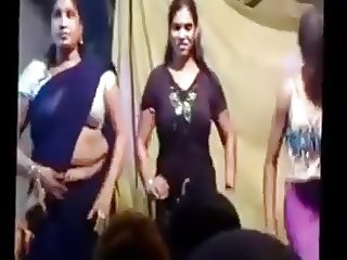 Telugu record dance group of girls