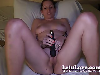 Lelu Love-Vibrator Masturbation Orgasm On Live Webcam Show