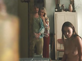 Olivia Wilde Full Frontal In VINYL