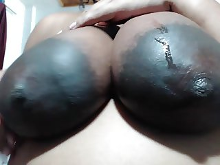 HUGE AREOLAS Idian Lady loves MY N-gg-r Balls