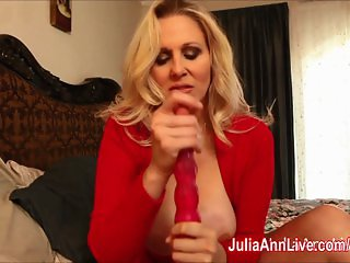 Milf Julia Ann Teases Stepson with Tits