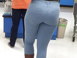 Tattoos and a Phat Ass In Tight jeans!