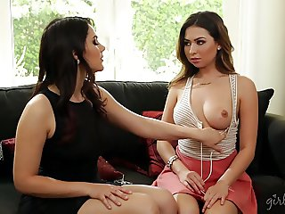 Melissa Moore and her Language Teacher Valentina Nappi