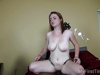 Chloe's First BBC Cock