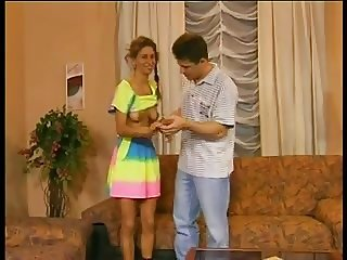 SB3 His Shy NOT Stepsister Finally Lets Him Fuck Her !