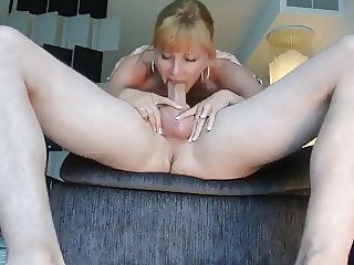 Man cum in mouth his wife in 69