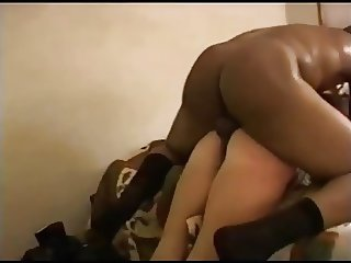 horny wife enjoys rough fucking by black friend