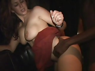 Isabella Soprano fucking a black guy at party 3