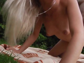 Gorgeous Teen Outdoor Fuck And Sucking Cock From Step Dad