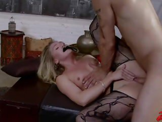 AJ Applegate Blindfolded Fuck