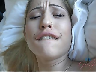 Goldie Rush's creampie after creampie on your date