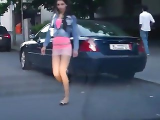 Street Prostitutes & Hookers being filmed 1